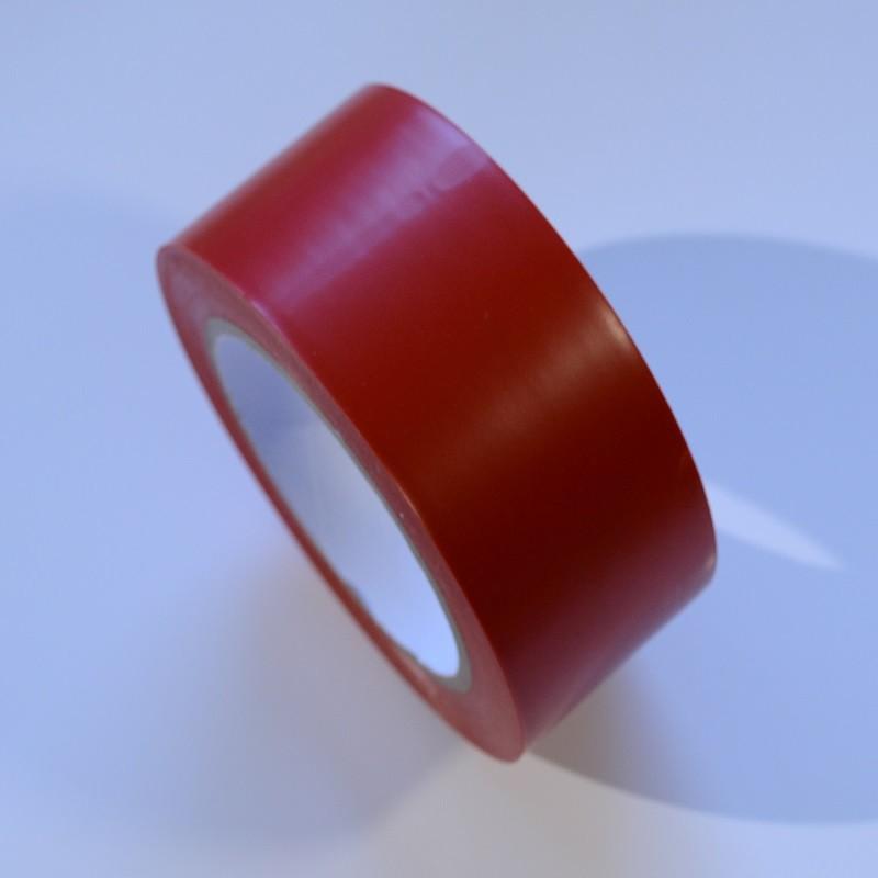 Taśma winylowa 50mm/33m czerwona