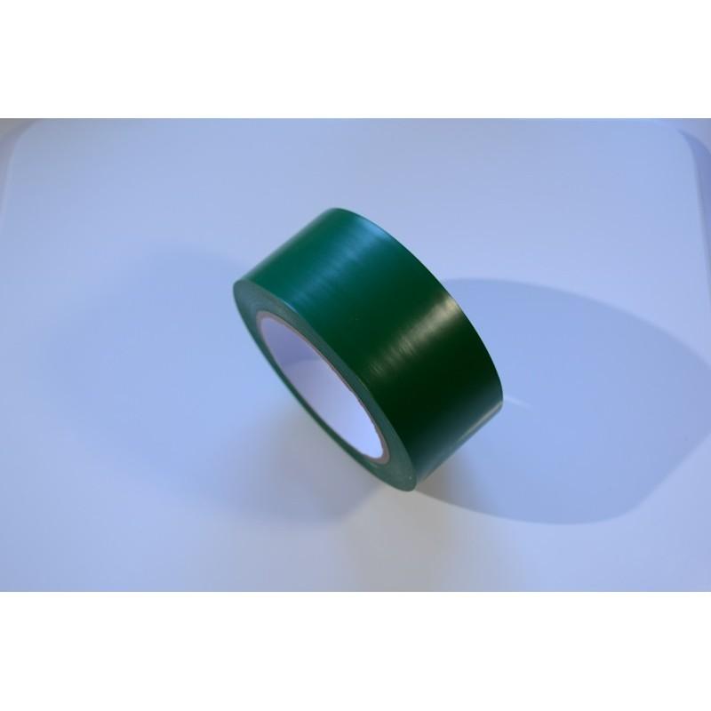 Taśma winylowa 50mm/33m zielona