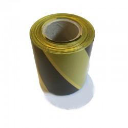 Taśma ostrzegawcza żółto-czarna 80mm/200m