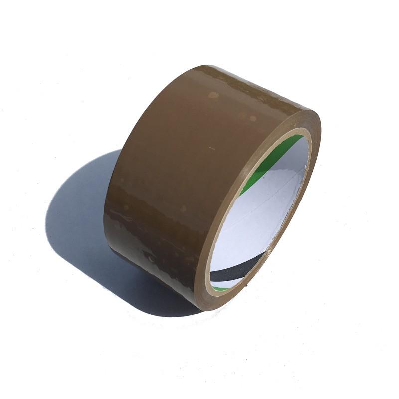 Taśma pakowa brązowa 48mm/60yd solvent