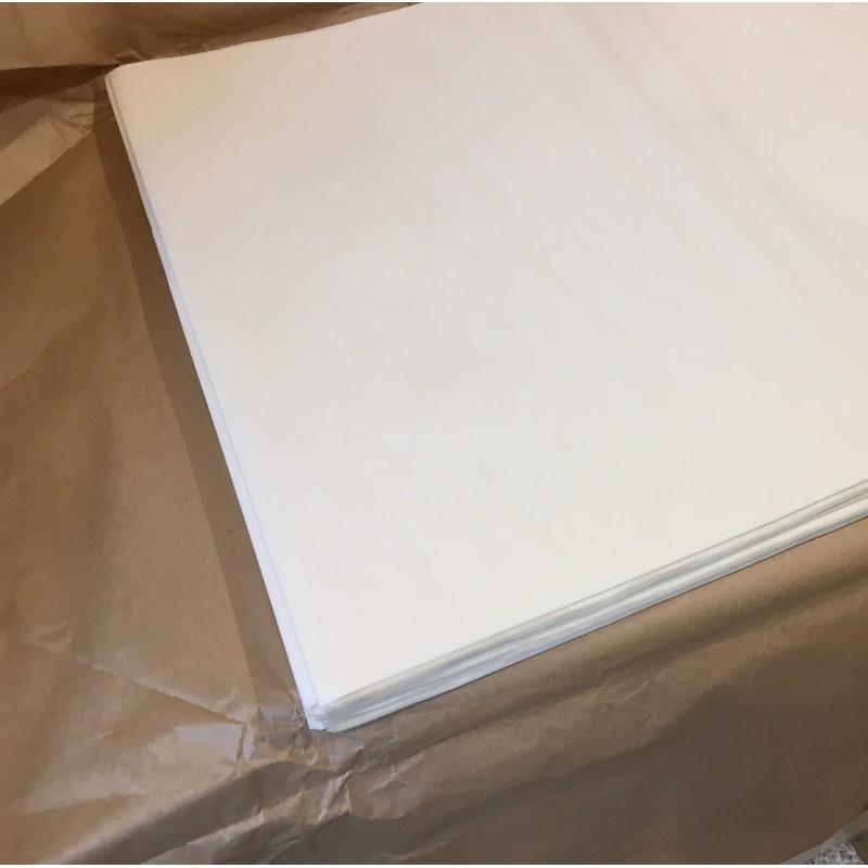 Papier do pieczenia biały arkusz 60/40, 500 sztuk