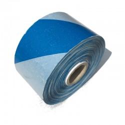 Taśma ostrzegawcza biało niebieska 70mm/500m