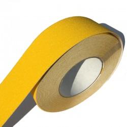 Taśma antypoślizgowa żółta 50mm/18m