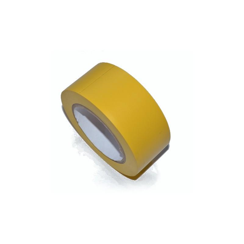 Taśma winylowa 50mm/33m żółta