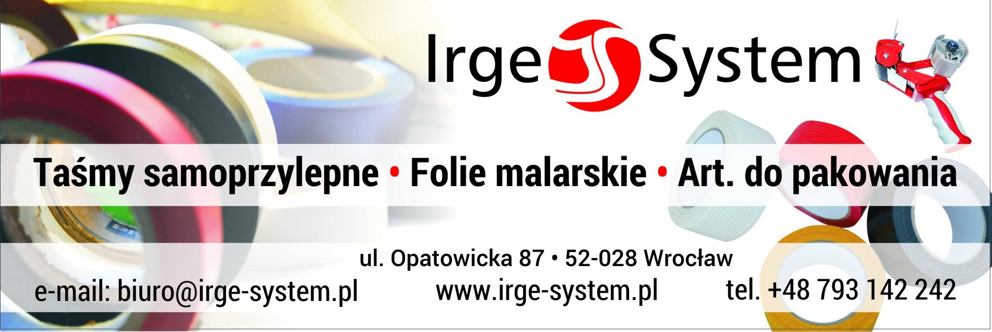 Irge-system, sprzedaż taśm.